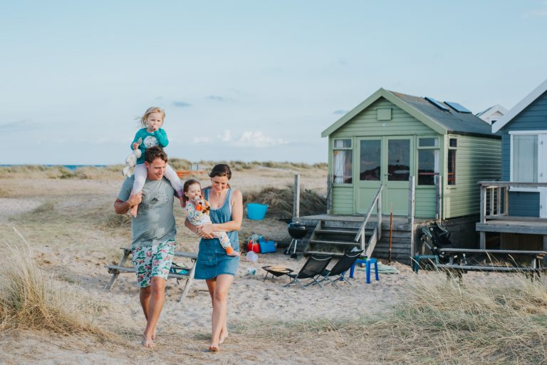 A Super Chilled Family Photo Shoot ~ Mudeford Beach Dorset