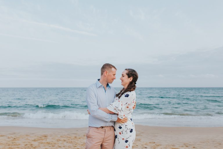 Charlie & Ryan ~ Bournemouth Beach Couple Shoot