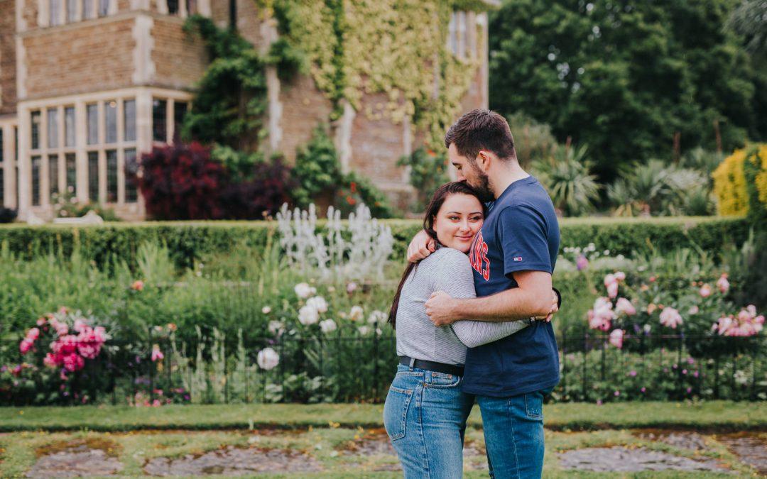 Chloe & Chris ~ Sedgwick Park House Couple Shoot