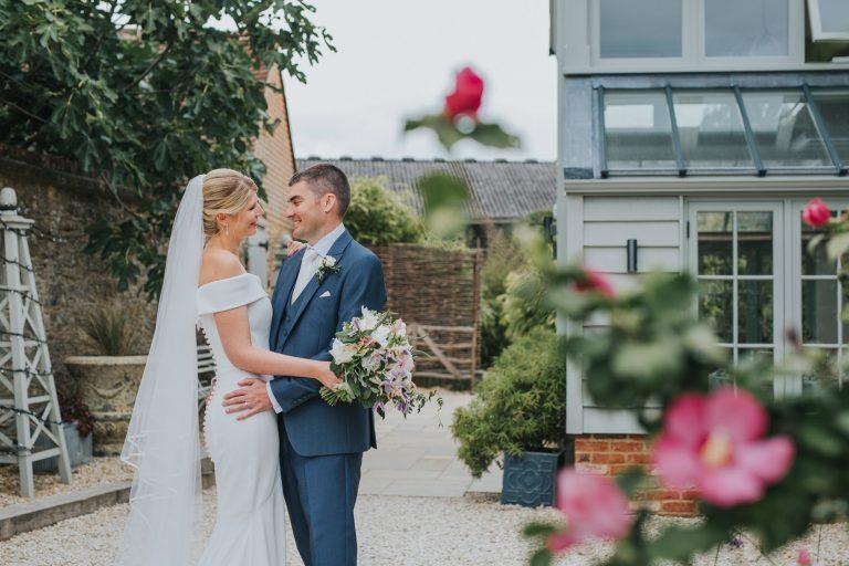 Emma & David's Super Chilled Gate Street Barn Wedding