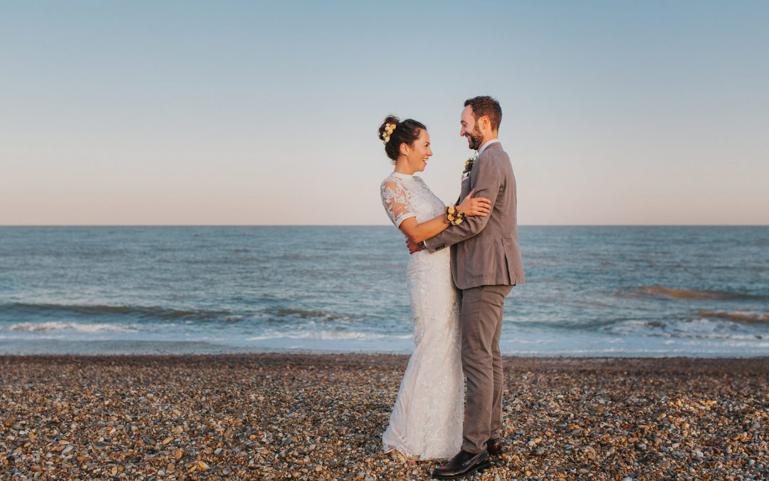 Natalie & Anthony ~ Chilled Out Beach Wedding