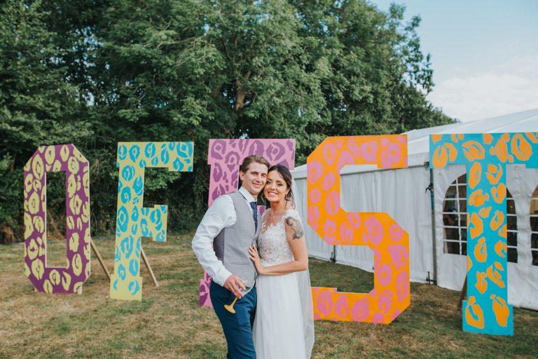 Sadie & Cal's Festival Wedding