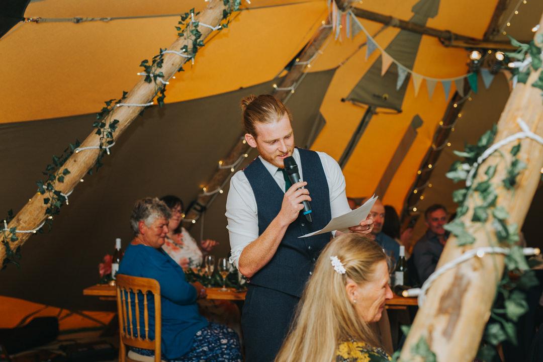 grooms speech at wootton farm estate