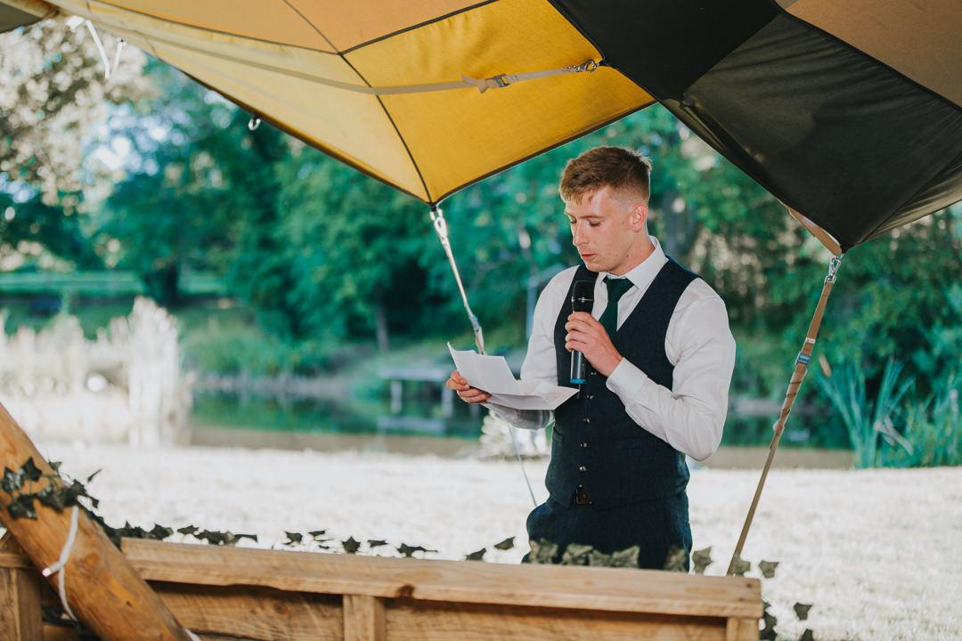 speeches at wootton farm estate