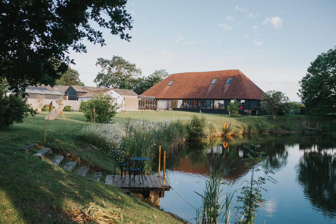 wootton farm estate wedding photo