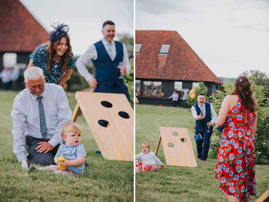 outdoor wedding venue games
