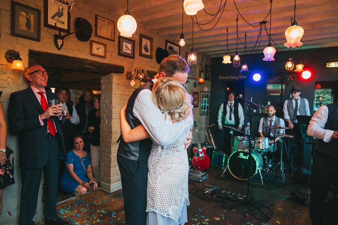 pub wedding reception